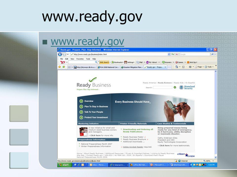 www.ready.gov