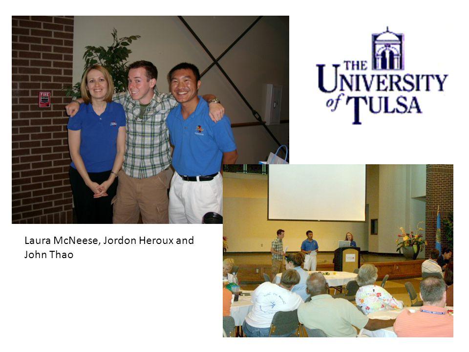 Laura McNeese, Jordon Heroux and John Thao