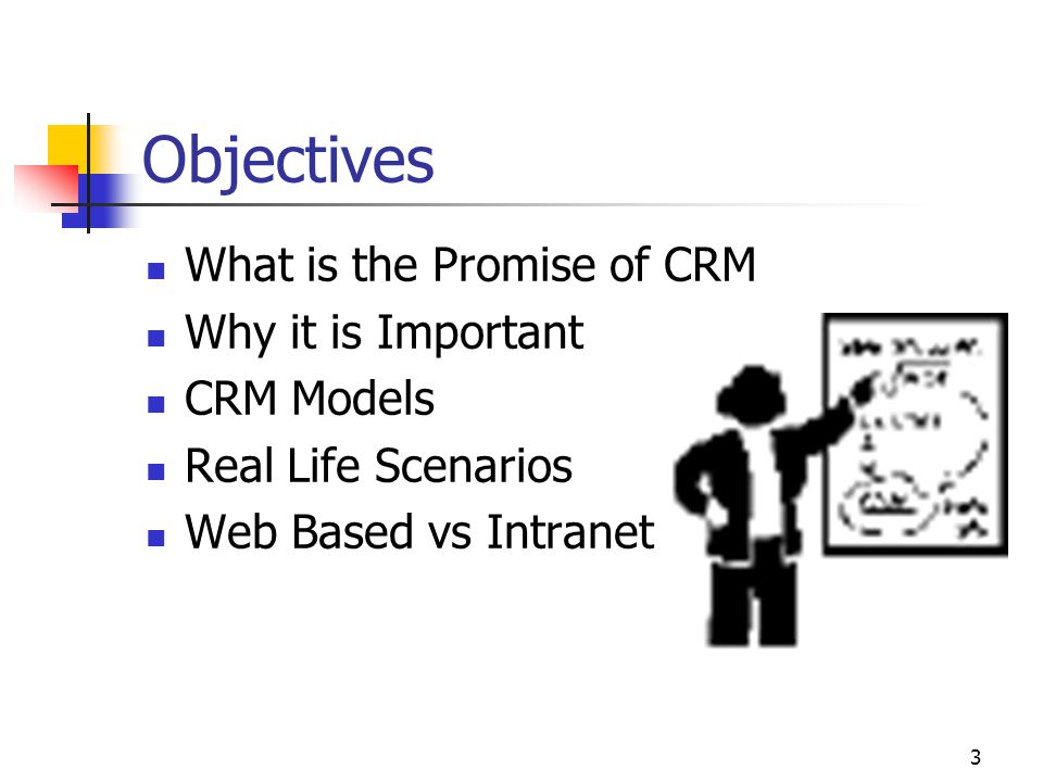 4 What is CRM Processes that help form better relationships with customers to improve customer satisfaction and provide the highest level of customer service.