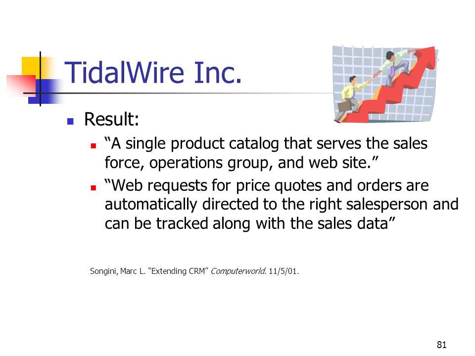 81 TidalWire Inc.