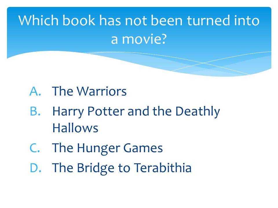 A.Harry Potter by J.K.