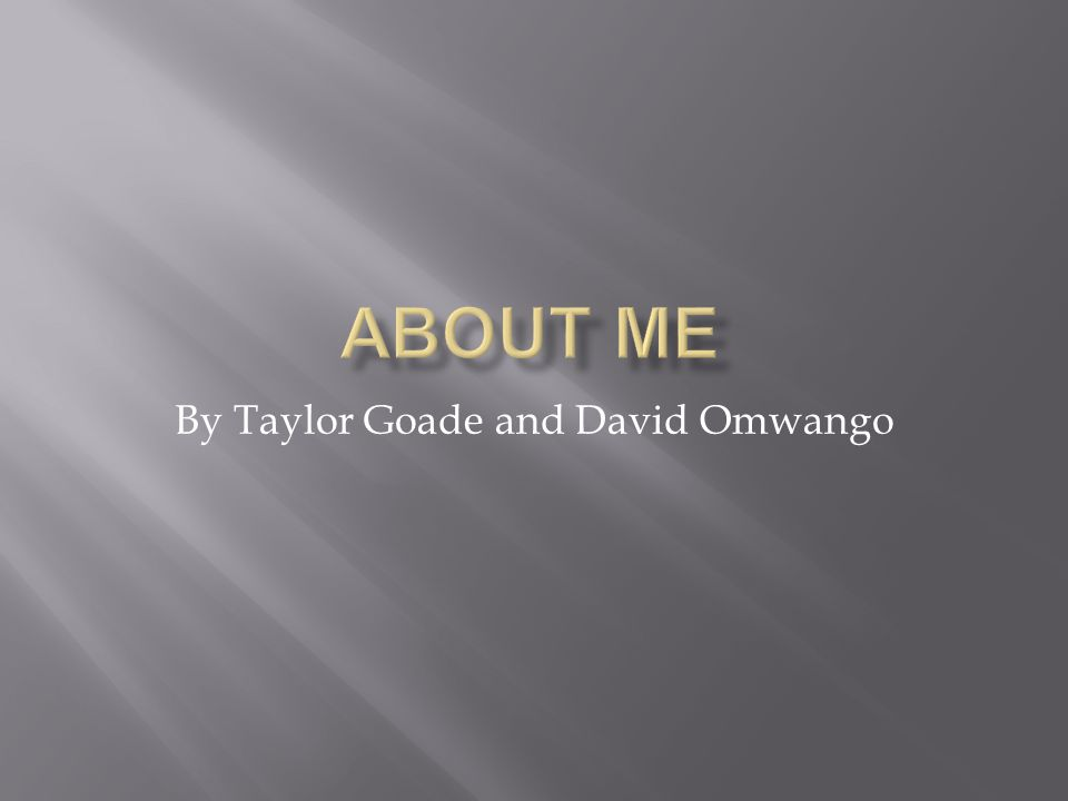 By Taylor Goade and David Omwango