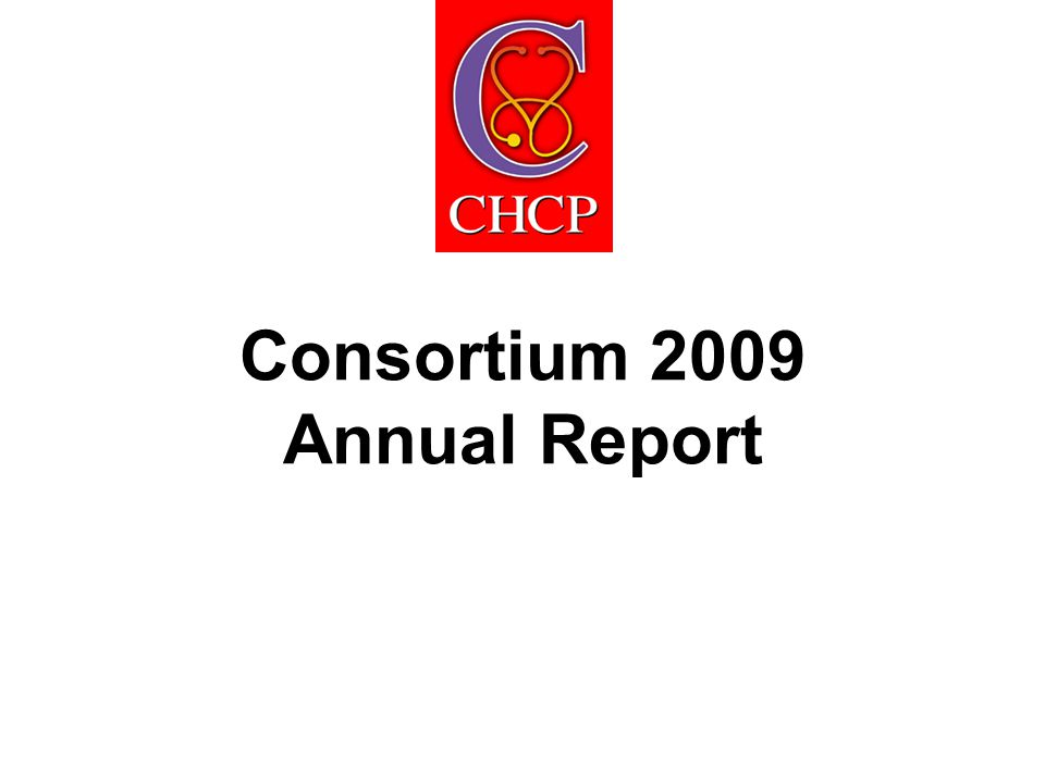 Consortium 2009 Annual Report