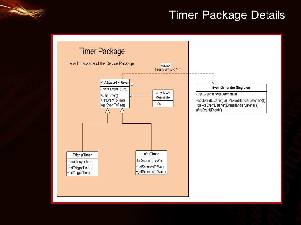 Timer Package Details