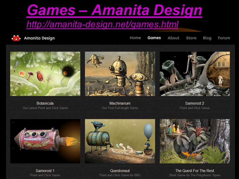 140 130 Games – Amanita Design http://amanita-design.net/games.html