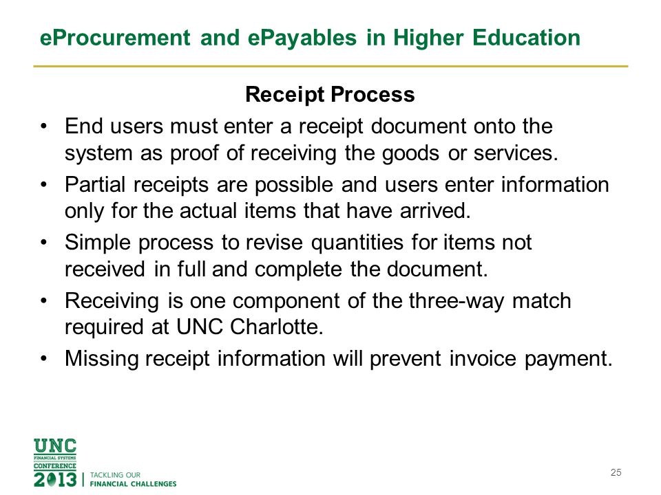 Eprocurement And Epayables In Higher Education Elizabeth Palian