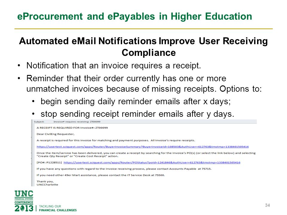eProcurement and ePayables in Higher Education We have created Exception Folders in the AP workflow.