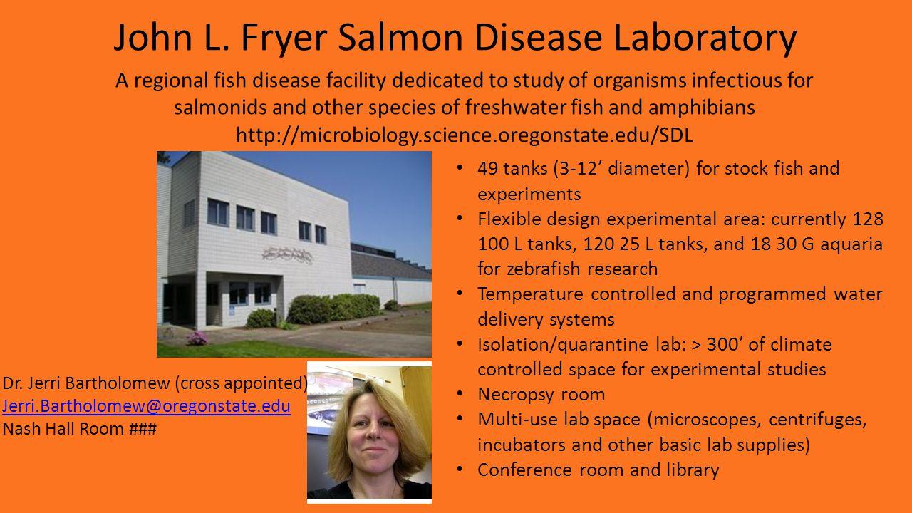 Oak Creek Laboratory (Robinson Lab) Dr.