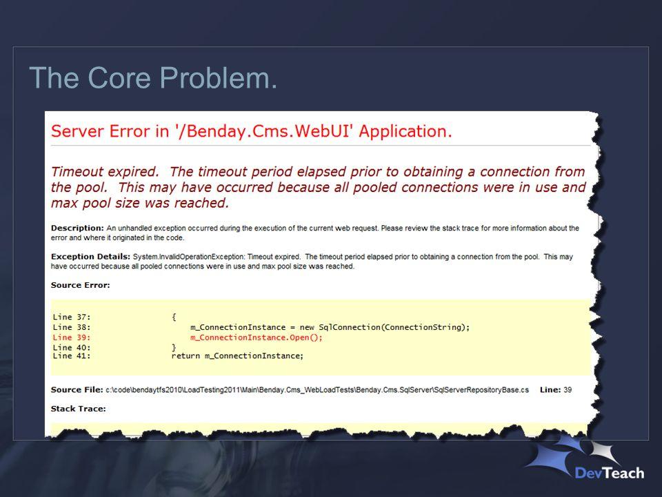 The Core Problem.
