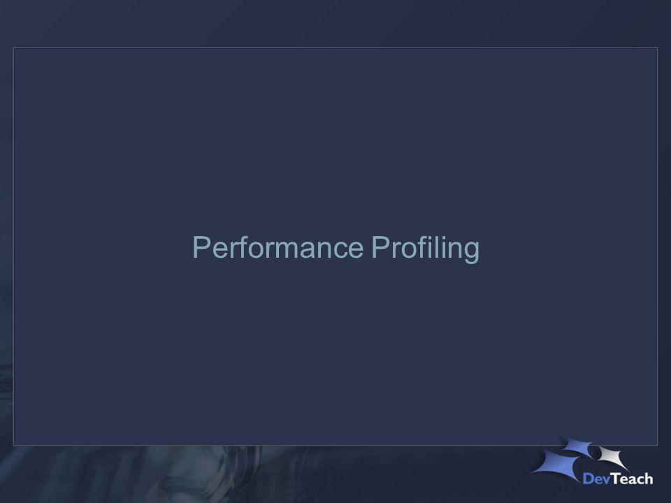 Performance Profiling