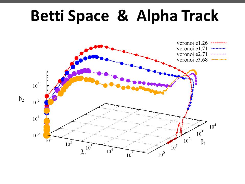 Betti Space & Alpha Track