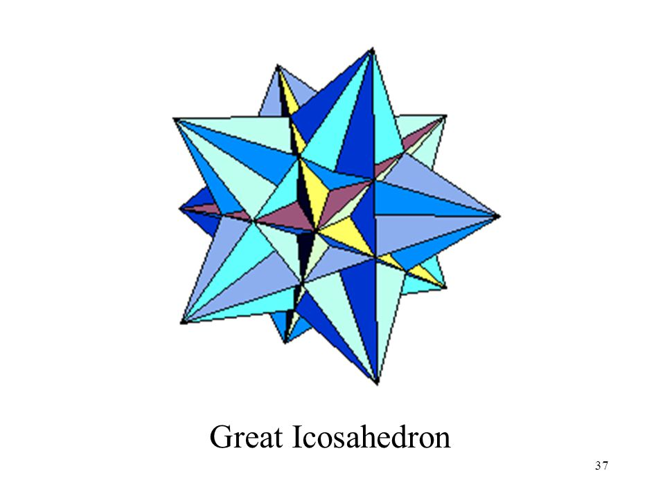 37 Great Icosahedron