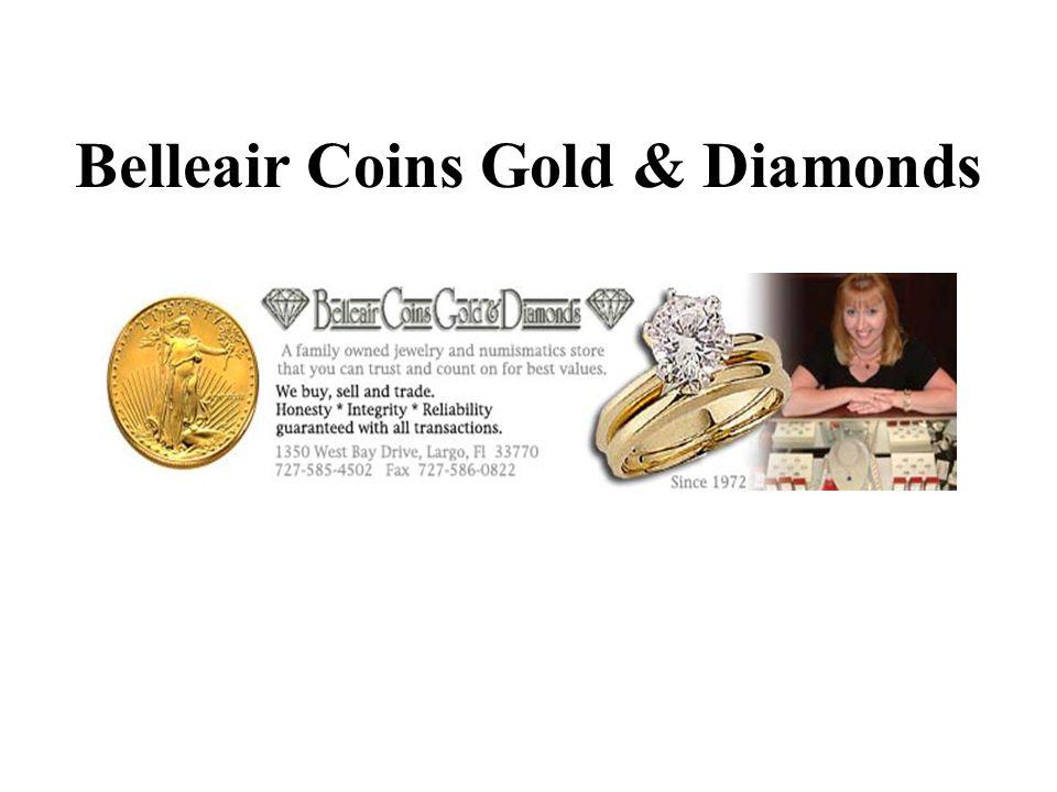 Belleair Coins Gold & Diamonds