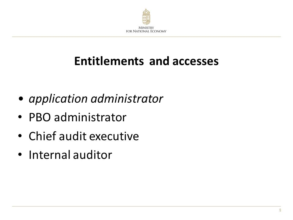 9 Databases inspection organizations audited organizations supervising organizations etc. persons