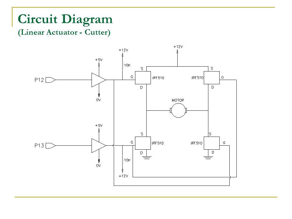 Circuit Diagram (Linear Actuator - Cutter)