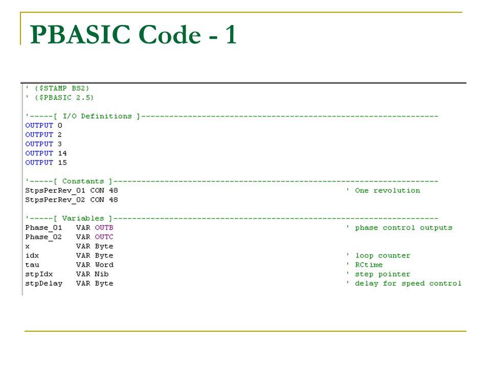 PBASIC Code - 1