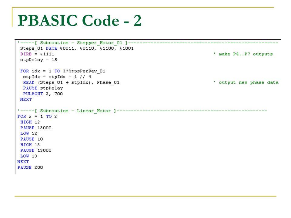 PBASIC Code - 2