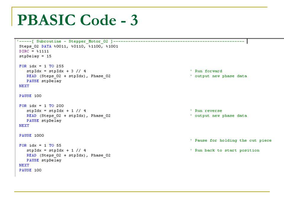PBASIC Code - 3