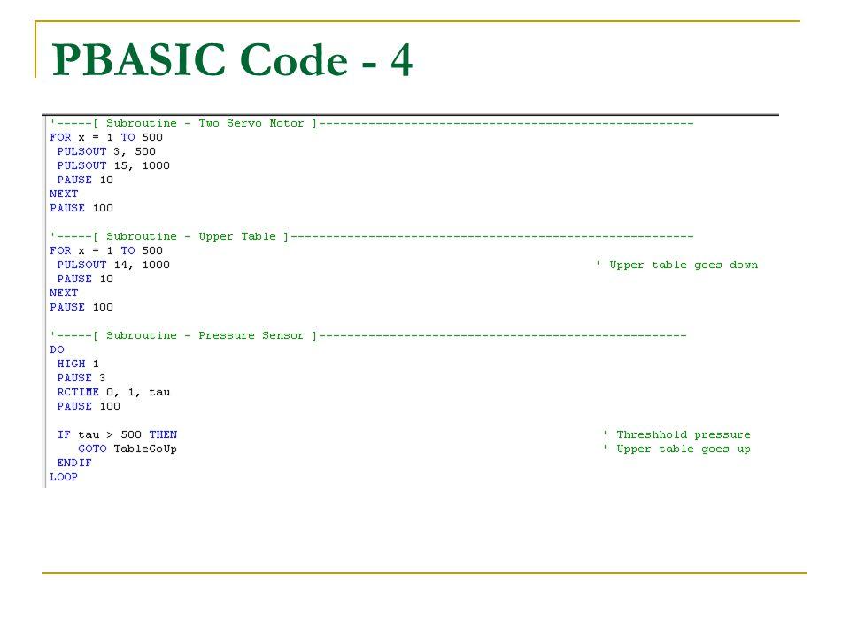 PBASIC Code - 4