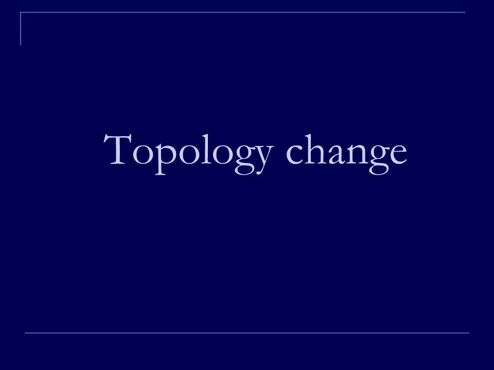 Topology change