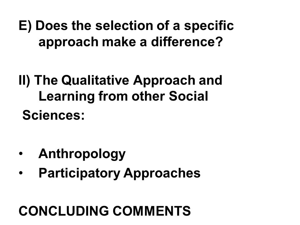 I) The Cardinal Approach to Multidimensional Poverty Measurement: In what follows a distinction will be made first between (1)approaches that lead to the derivation of an aggregate indicator on the basis of which a poverty threshold (line) will be determined and traditional measures of uni-dimensional poverty will be derived (2) truly multidimensional approaches where a poverty threshold is determined for each dimension and which lead to the definition of multidimensional indices of poverty.