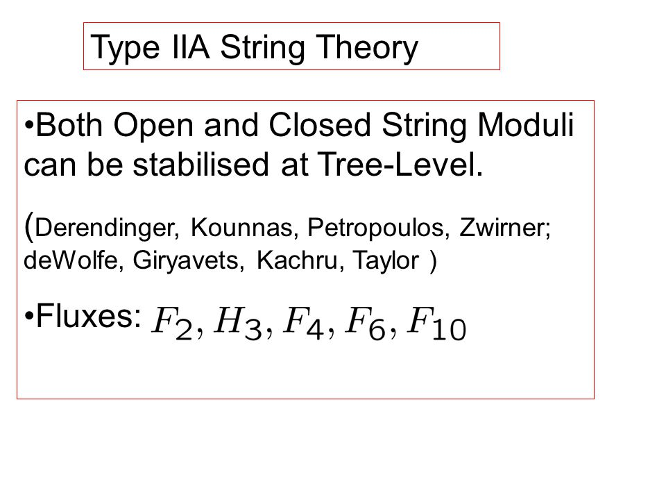 Type IIA String Theory Both Open and Closed String Moduli can be stabilised at Tree-Level.