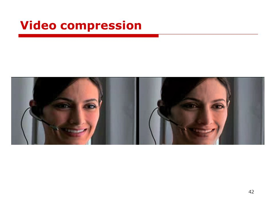 Video compression 42
