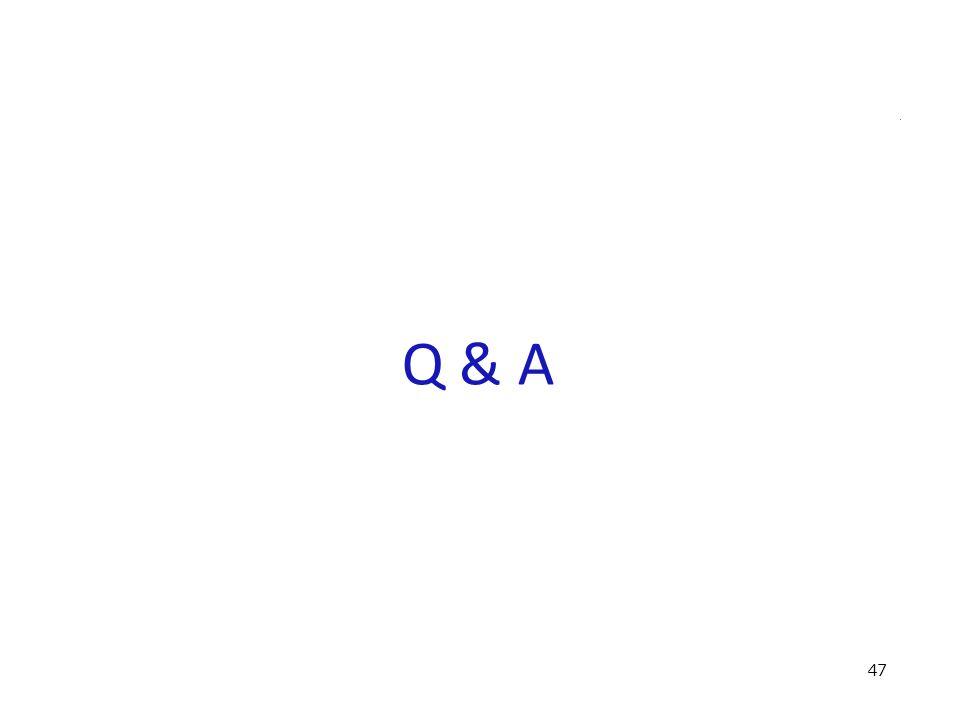 Q & A 47