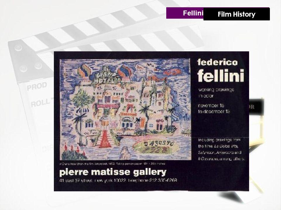 Fellini's Creative Life Film History