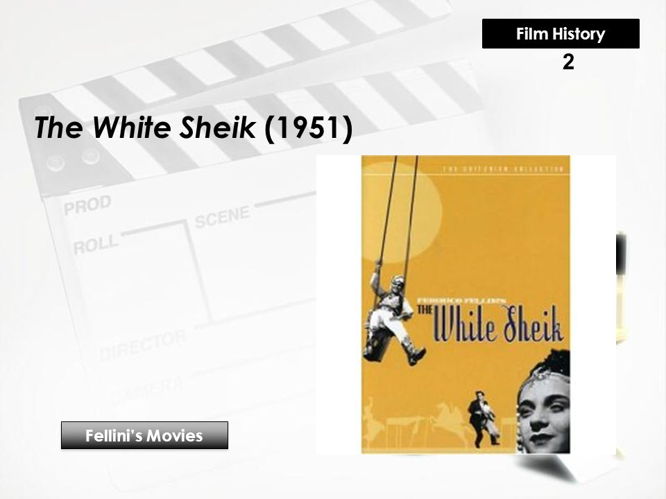 The White Sheik (1951) Fellini's Movies 2 Film History