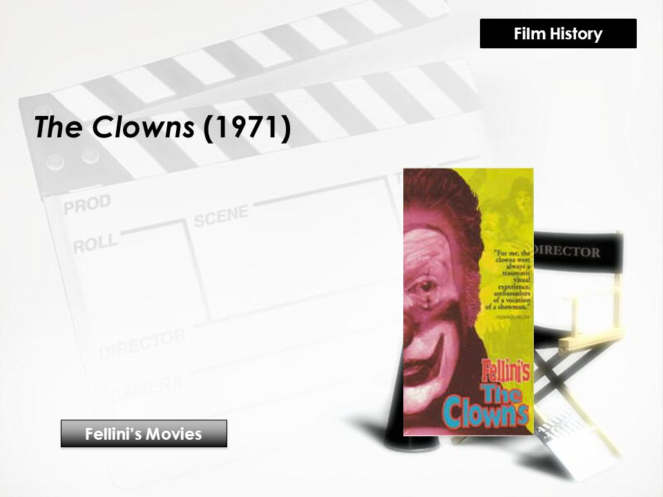 The Clowns (1971) Fellini's Movies Film History