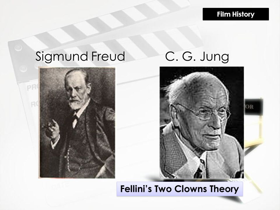 Sigmund FreudC. G. Jung Fellini's Two Clowns Theory Film History