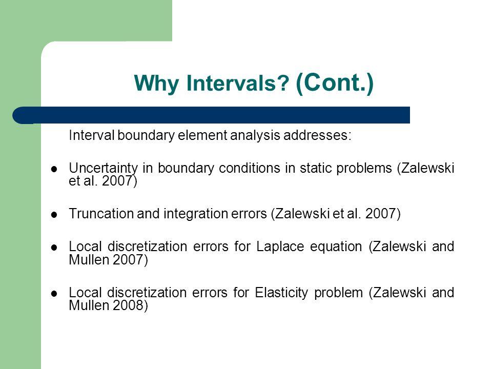 Why Intervals.