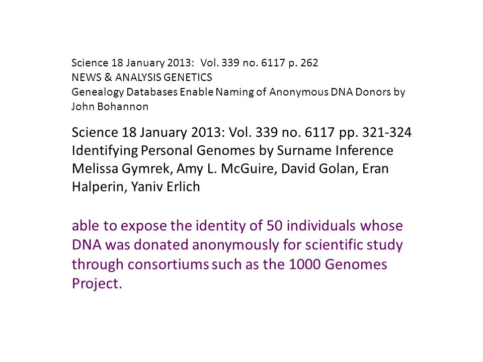 Science 18 January 2013: Vol. 339 no. 6117 p.