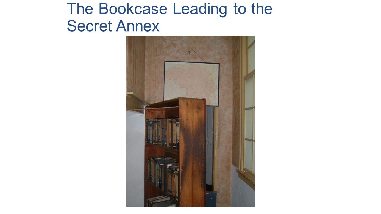The Bookcase Leading to the Secret Annex