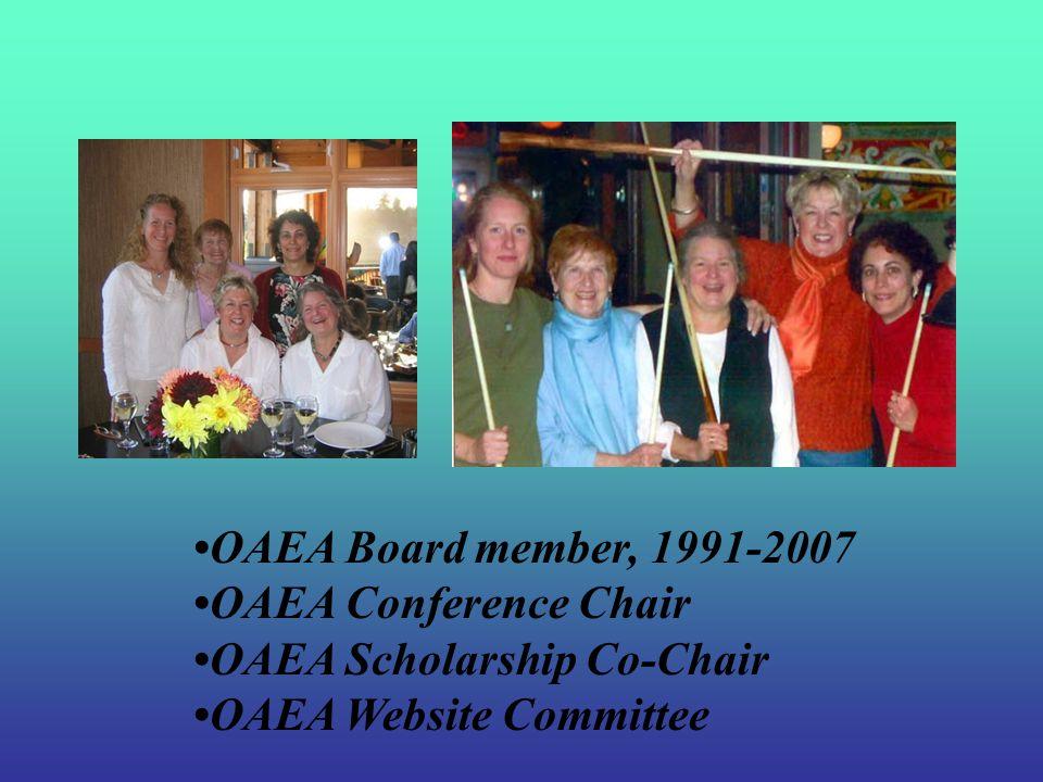NAEA Pacific Region Summer Leadership Meetings