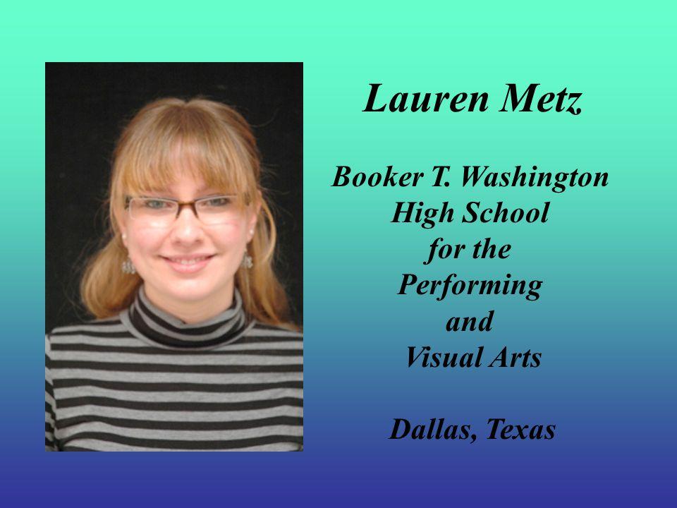 NAEA Rising Star Award Lauren Metz Texas