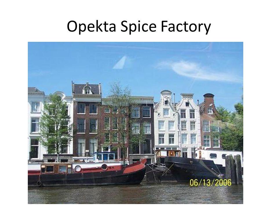 Opekta Spice Factory