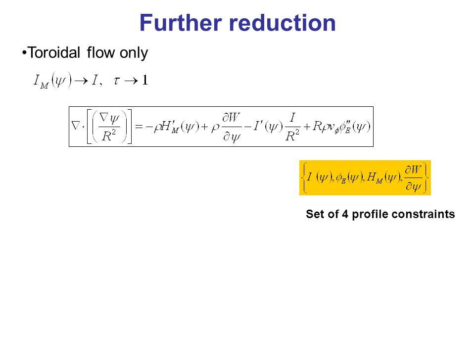 Known: R 0 = major radius,  = ellipticity, n=-10 Inferred: p= poloidal mode no.