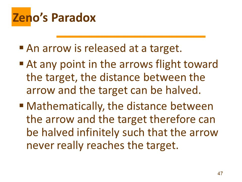  An arrow is released at a target.