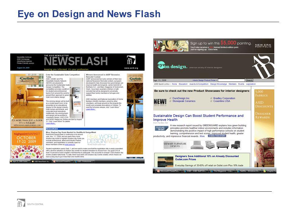 Eye on Design and News Flash