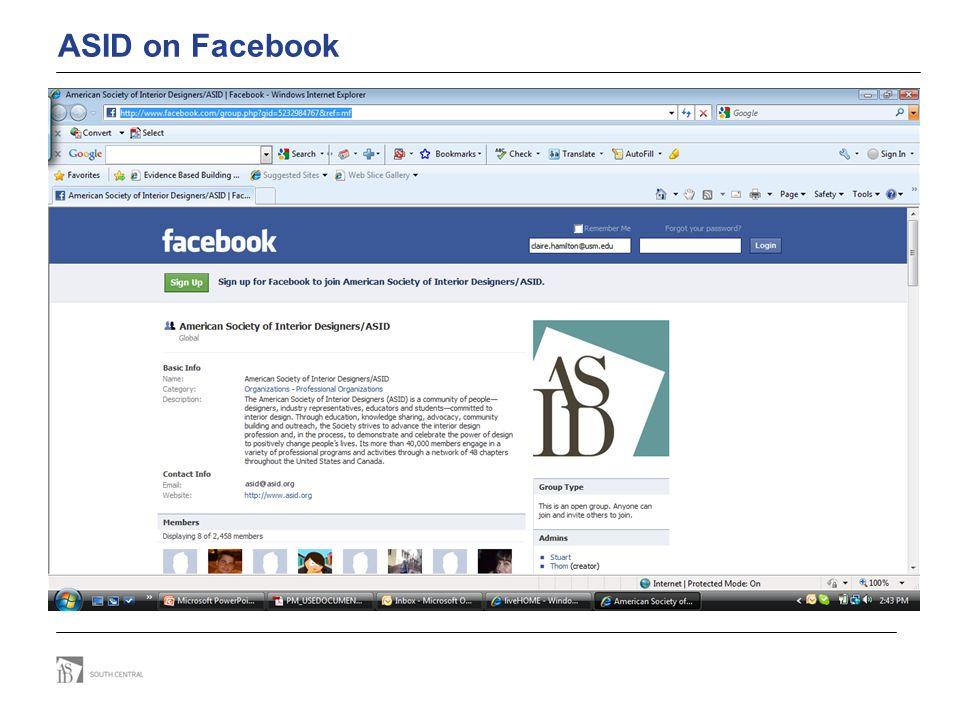 ASID on Facebook