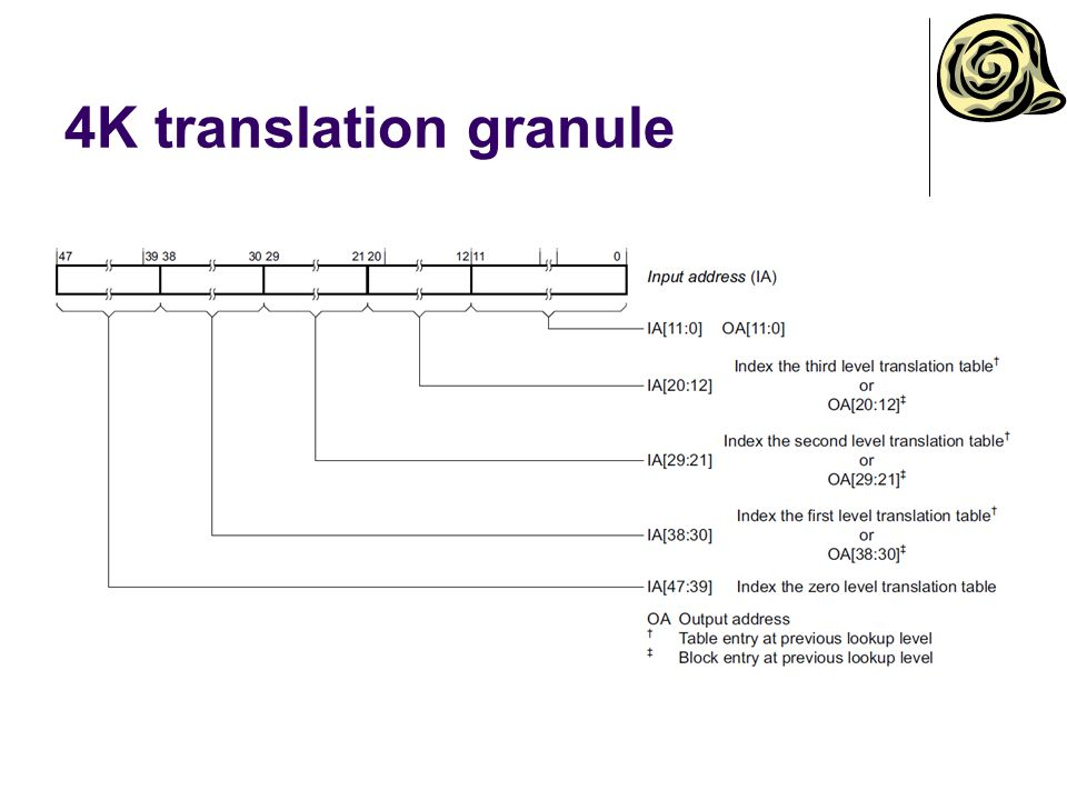 4K translation granule