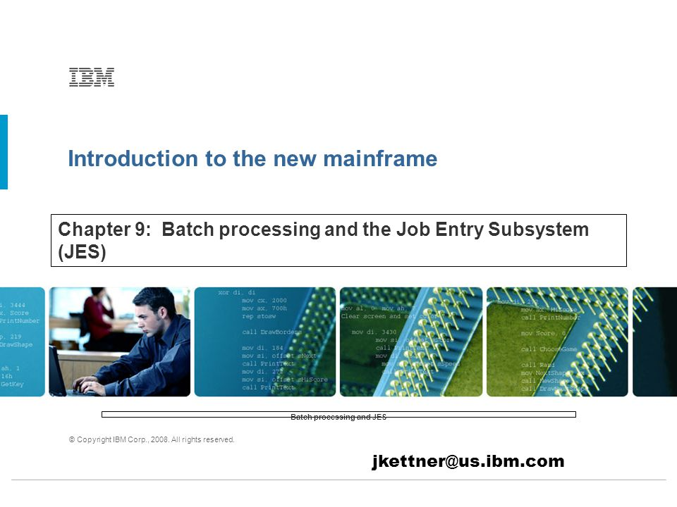 Introduction to the new mainframe © Copyright IBM Corp., 2008.