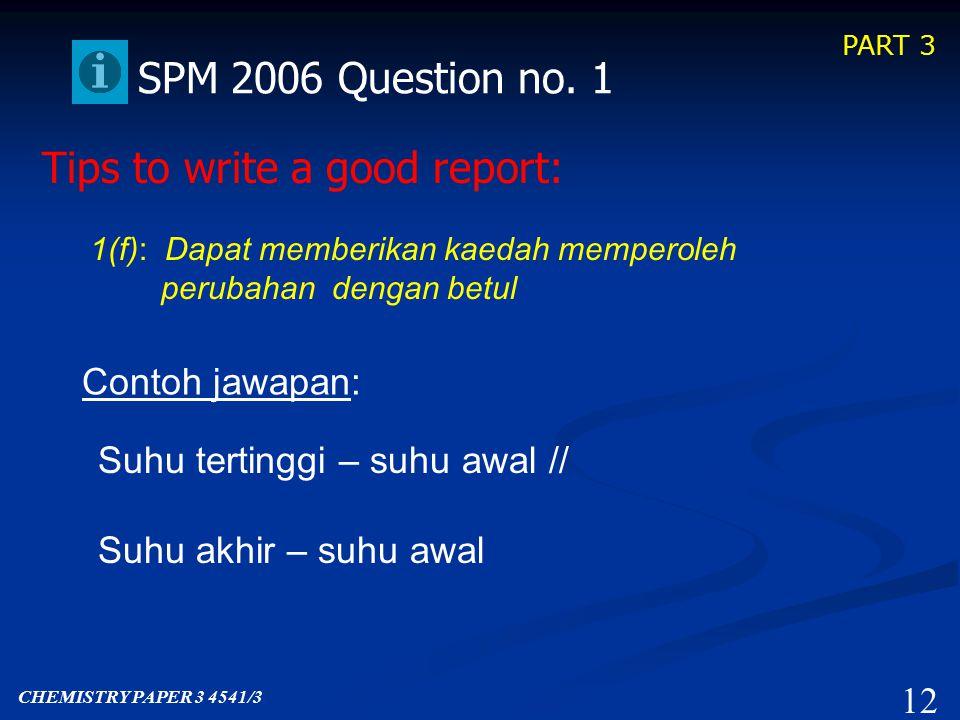 PART 3 11 SPM 2006 Question no.