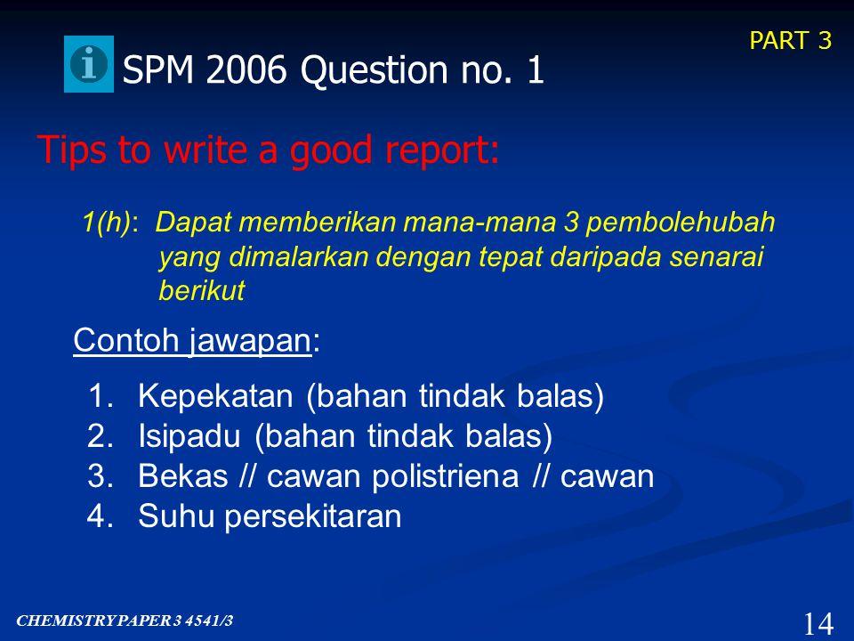 PART 3 13 SPM 2006 Question no.