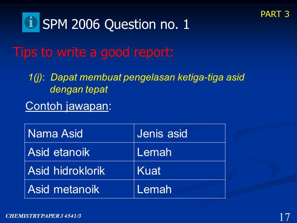 PART 3 16 SPM 2006 Question no.