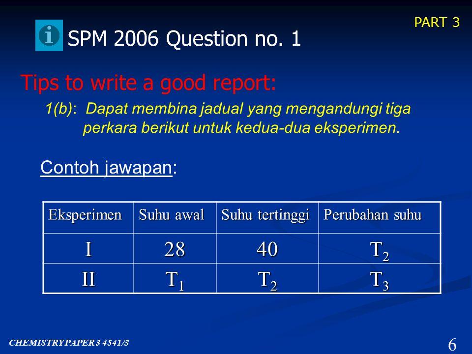 PART 3 6 SPM 2006 Question no.