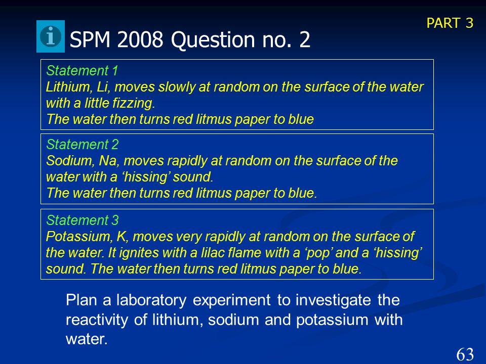 PART 4 62 SPM 2008 Question no.