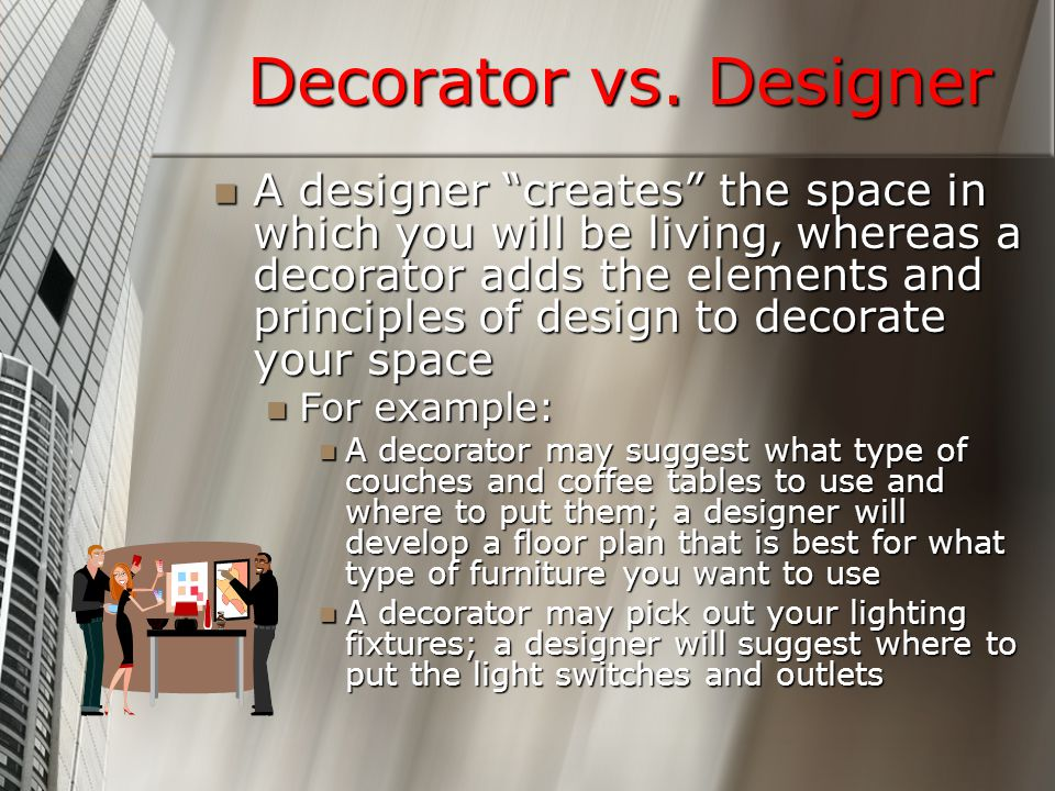 Decorator vs.